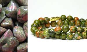 Камень унакит – магические и целебные свойства, характеристика